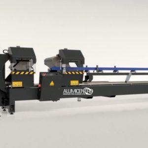Máquina de Corte ALUMINIO / PVC Dupla Cabeça Frontal
